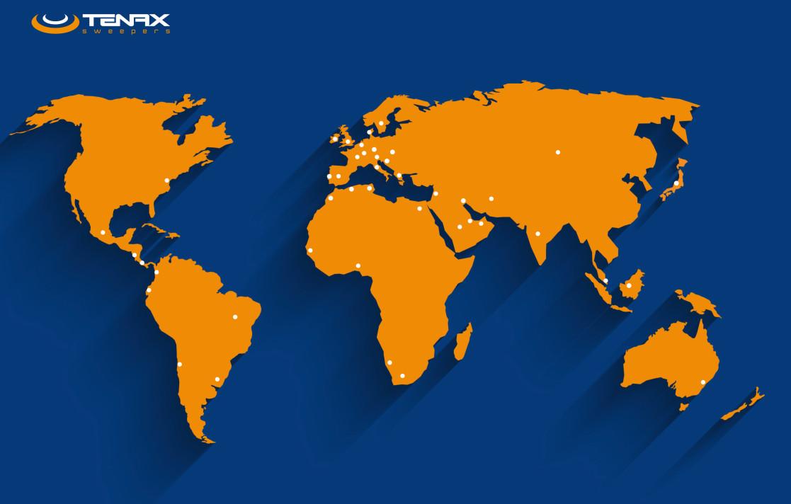 TENAX nel mondo
