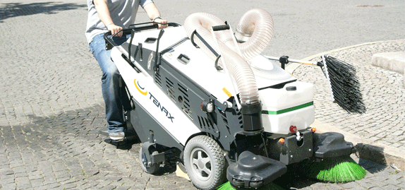 Tenax-MaxWind---Environment-friendly-sidewalk-sweeper